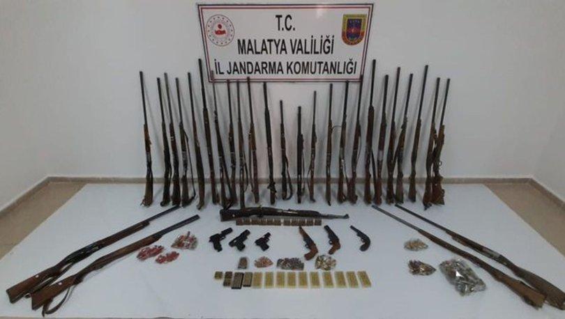 Malatya ve Adıyaman'da silah kaçakçılığı operasyonu! 21 gözaltı