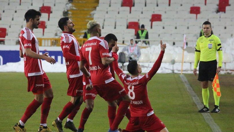 Sivasspor: 1 - Alanyaspor: 0 | MAÇ SONUCU ve MAÇ ÖZETİ!