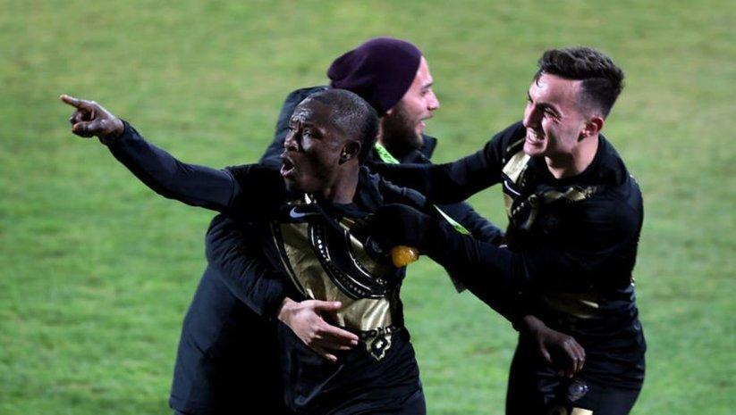 Osmanlıspor 2 golle kazandı