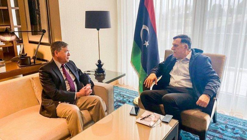 Ankara'da bulunan Serrac, ABD'li Büyükelçi Satterfield ile görüştü