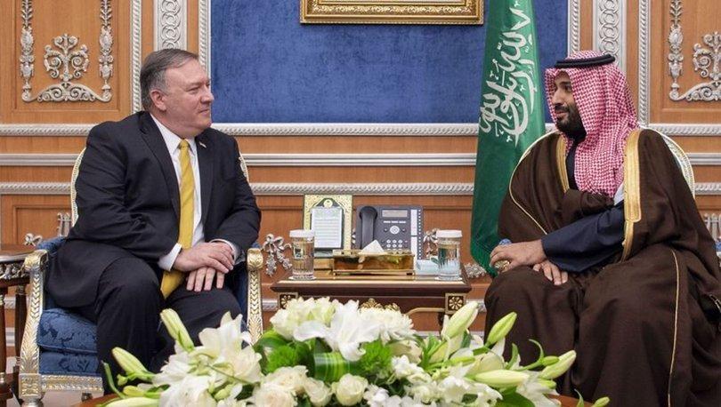 ABD Dışişleri Bakanı Pompeo, Suudi Arabistan Kralı ve Veliaht Prensi ile görüştü