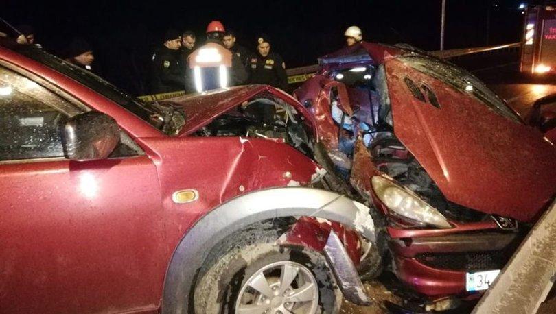 Bursa'da otomobil ile kamyonet çarpıştı: 1 ölü, 3 yaralı