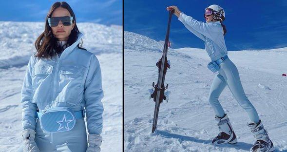 Özilhan'ın kayak kaçamağı...