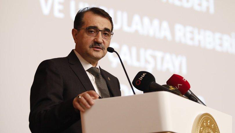 Bakan Dönmez, Anadolu Güneşi Elektrik Üretiyor Buluşması'nda konuştu: