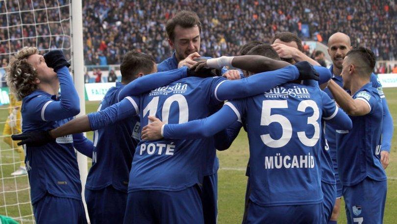 BB Erzurumspor: 2 - Bursaspor: 1 | MAÇ SONUCU
