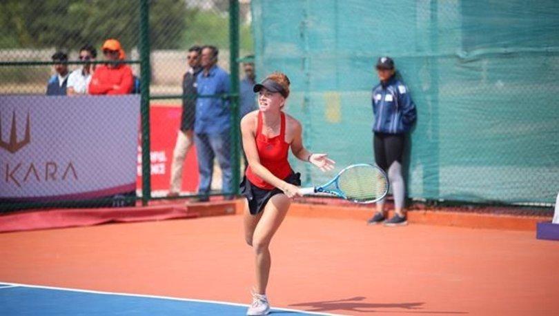 Milli tenisçi Berfu Cengiz Hindistan'da finalde