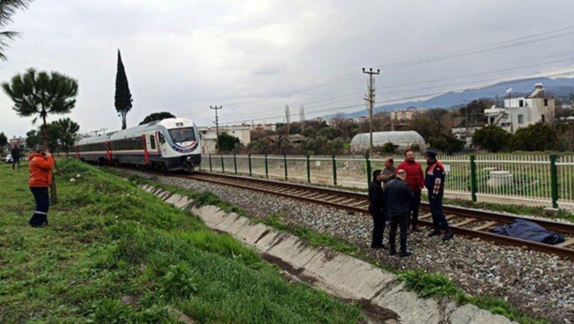 Aydın'da trenin çarptığı yaşlı adam öldü