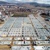 Depremzedeler konteyner kentlere yerleşiyor