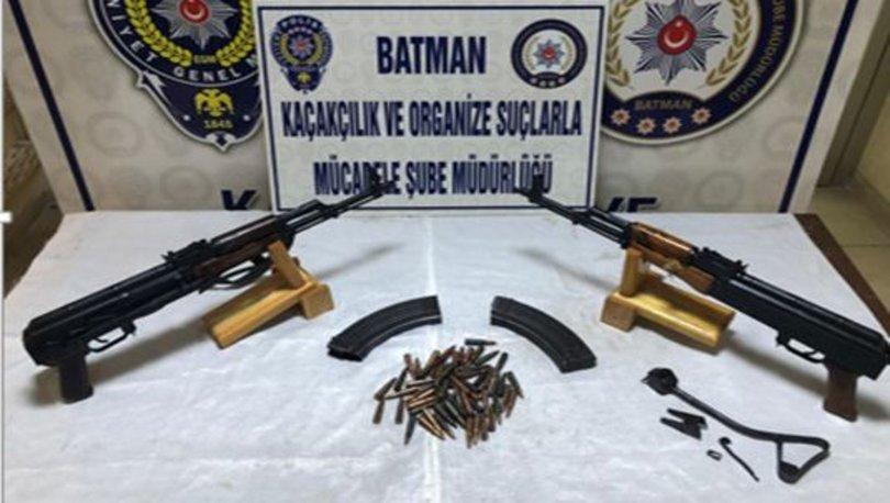 Batman'da silah kaçakçılığı operasyonu