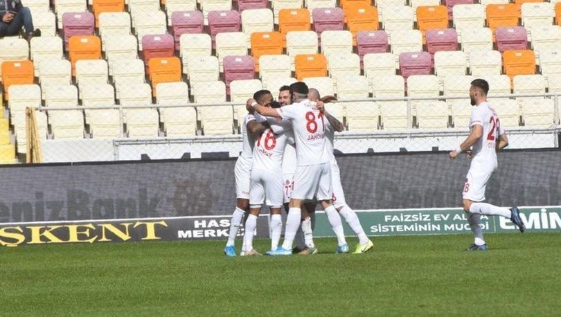Yeni Malatyaspor: 1 - Antalyaspor: 2 | MAÇ SONUCU