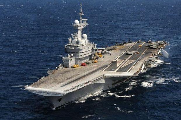 Fransa'nın savaş gemisi Kıbrıs'ta gerilimi artırdı!