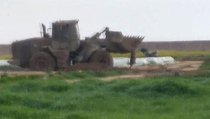 İSRAİL DEHŞETİ! İsrail askerleri Filistinli şehidi buldozerle sürükledi!