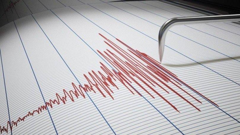 Manisa'da 4,8 büyüklüğünde deprem!