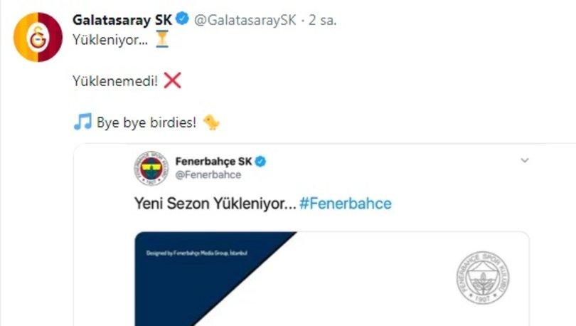 Galatasaray'dan Fenerbahçe galibiyeti sonrası mayıs ve 4. yıldız göndermesi