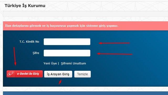 İŞKUR personel alımı İstanbul! İlkokul, ortaokul ve lise mezunu personel alımları 24 Şubat 2020