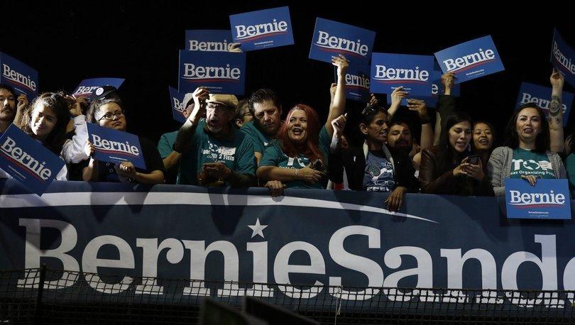 Sanders Nevada'da rakiplerine fark attı!