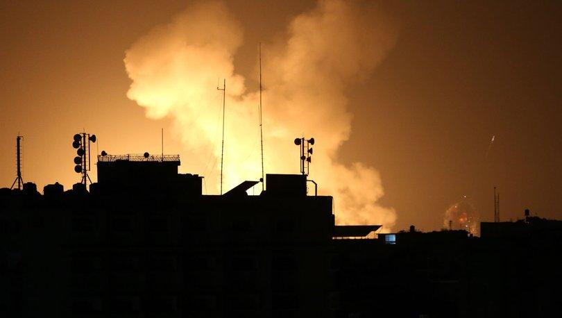 İsrail'den Şam yakınlarına hava saldırısı!