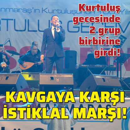 Kavgaya karşı İstiklal Marşı!