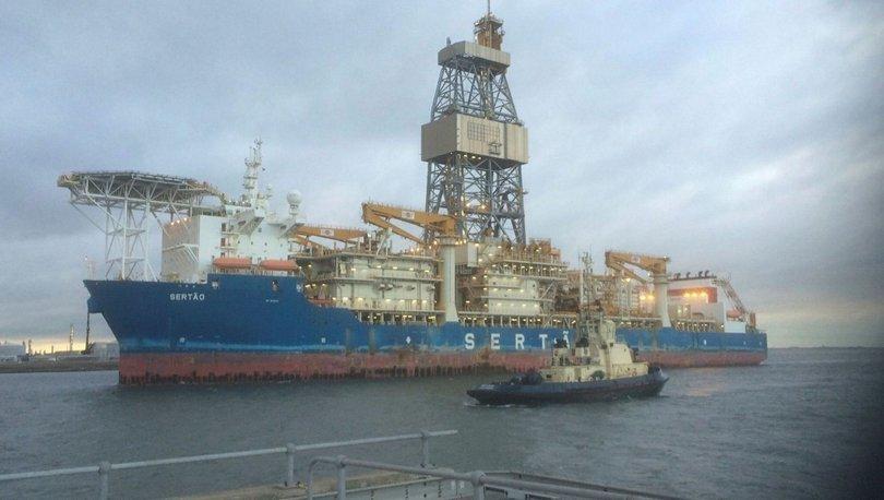 Türkiye'nin 3. sondaj gemisi İngiltere'den