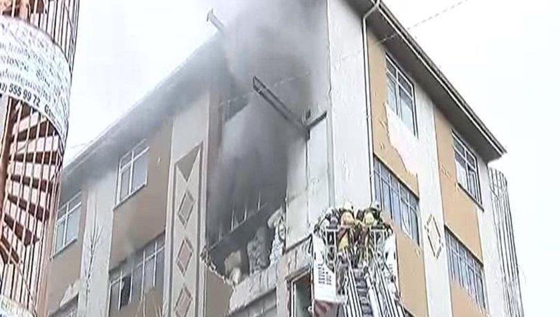 Güngören'de patlamalarında yaşandığı iş yerinde yangın çıktı