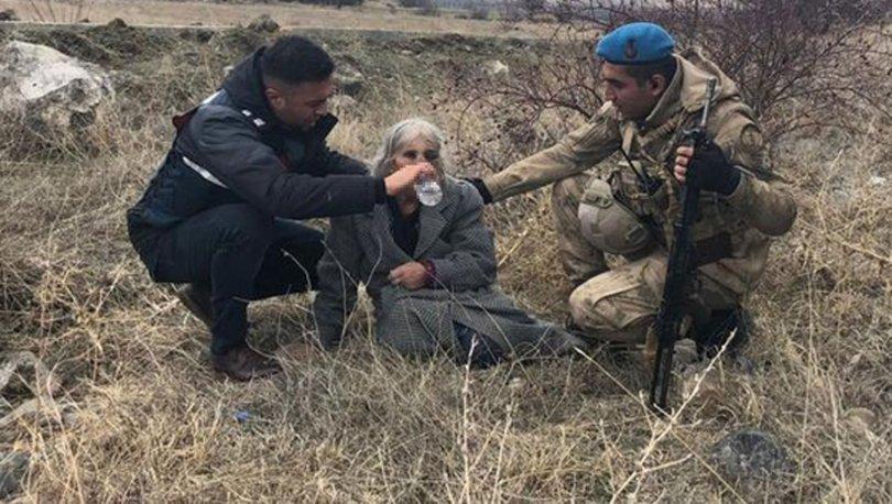 SON DAKİKA HABERİ! Kayalıklara düşerek yaralanan yaşlı kadını Mehmetçik buldu!
