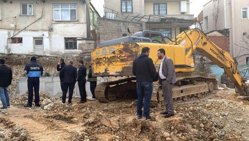 Darıca'daki inşaatta kayma meydana gelince iki bina mühürlendi