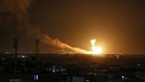 İsrail ordusu Filistin İslami Cihat Örgütü'nün Gazze ve Suriye'deki mevzilerine hava saldırısı düzenledi