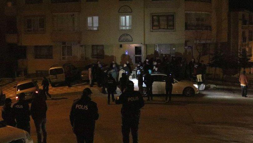 Ankara'da çökme tehlikesi bulunan apartman boşaltıldı