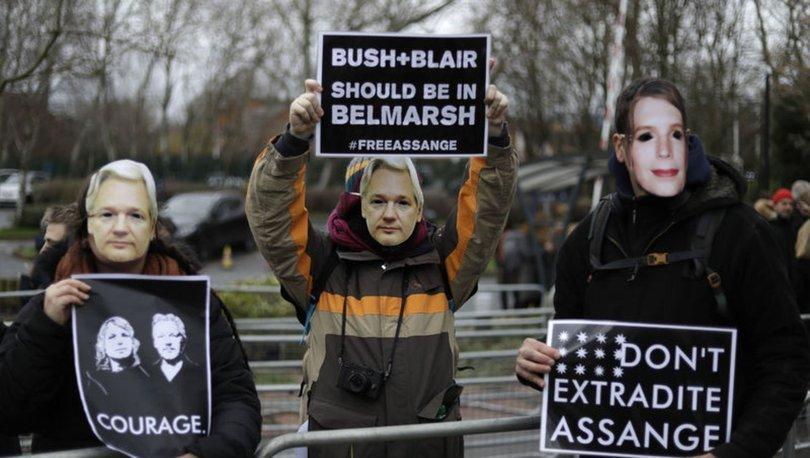 Wikileaks kurucu Assange hakim karşısına çıktı