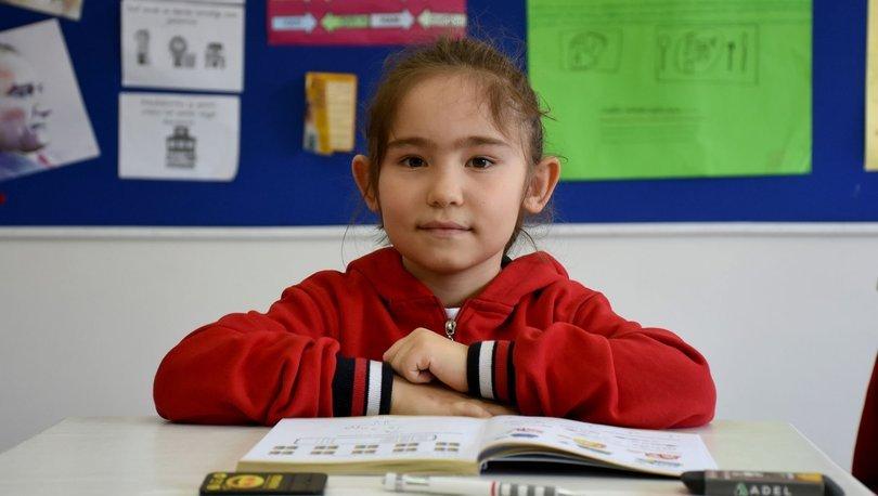 Gururlandırdı! Küçük Nilüfer matematik yarışmasında dünya birincisi oldu