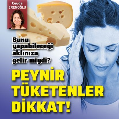Peynir tüketenler dikkat! Bunu yapabileceği aklınıza gelir miydi?