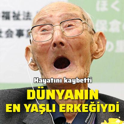 Dünyanın en yaşlı erkeğiydi! Hayatını kaybetti