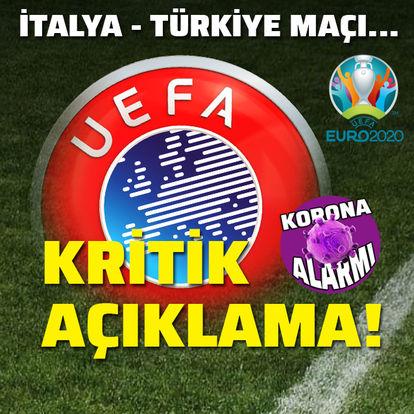UEFA'dan kritik açıklama