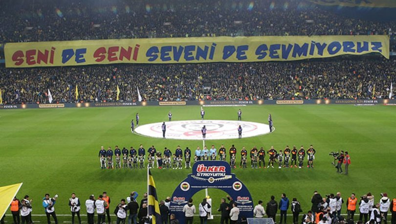 Galatasaray'dan derbideki pankart için suç duyurusu!