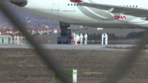 Tahran uçağındaki 132 yolcu karantinada