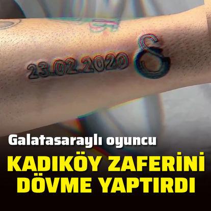 Kadıköy galibiyetini dövme yaptırdı