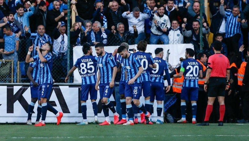 TFF 1. Lig'de müthiş maç! Menemenspor - Adana Demirspor maçında tam 5 gol!