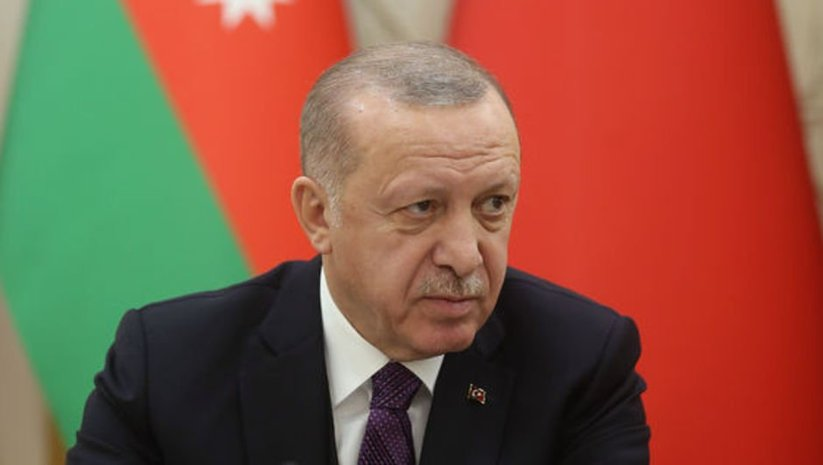 Cumhurbaşkanı Erdoğan'dan Bakü'de açıklamalar