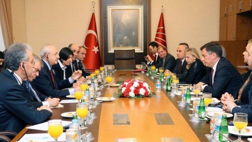 CHP Genel Başkanı Kılıçdaroğlu, AP Dış İlişkiler heyetini kabul etti