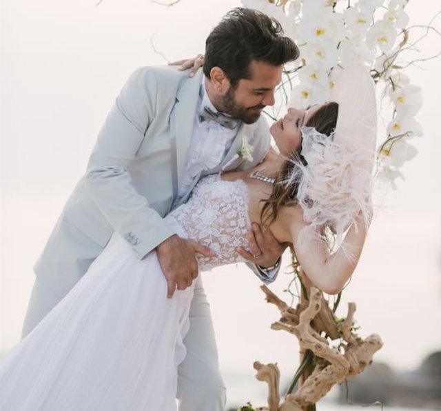 Kenan Doğulu'dan eşi Beren Saat'e romantik kutlama - Magazin haberleri