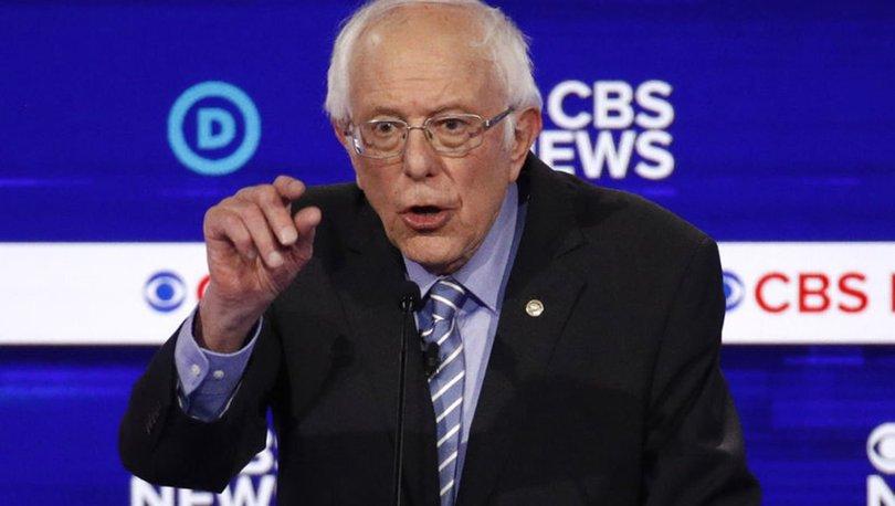 ABD'de Demokrat aday adayı Sanders'tan Netanyahu'ya