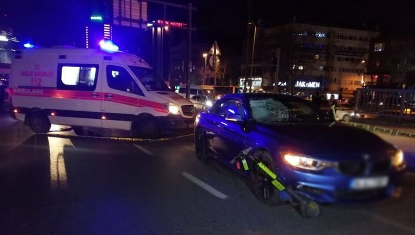 Beşiktaş'ta feci kaza: 1 ölü