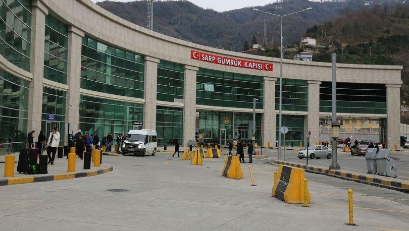 Sarp Sınır Kapısı'ndan 2019 yılında 6 milyon 796 bin 726 yolcu giriş-çıkış yaptı