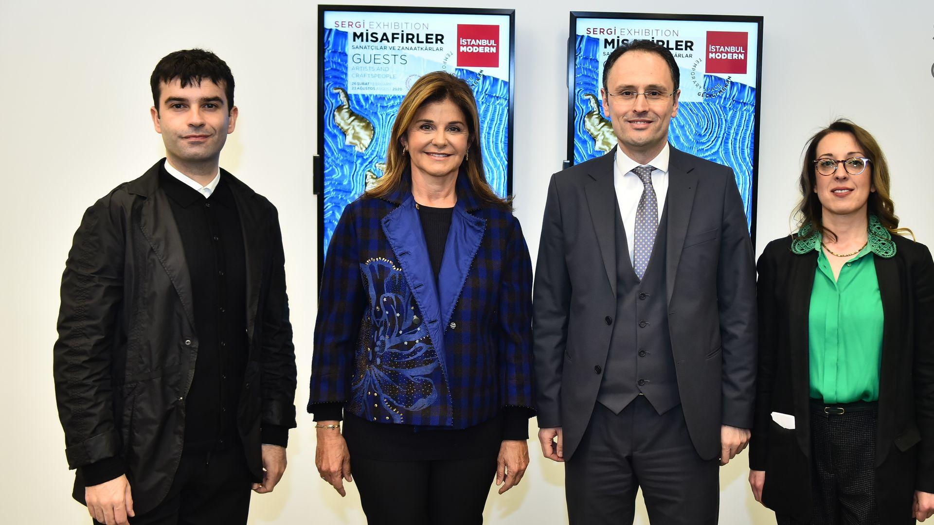 İstanbul Modern'de 'Misafirler: Sanatçılar ve Zanaatkârlar'