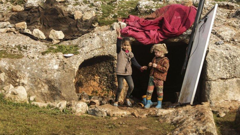 Mağaraya sığınan 74 aile için harekete geçildi! - Haberler