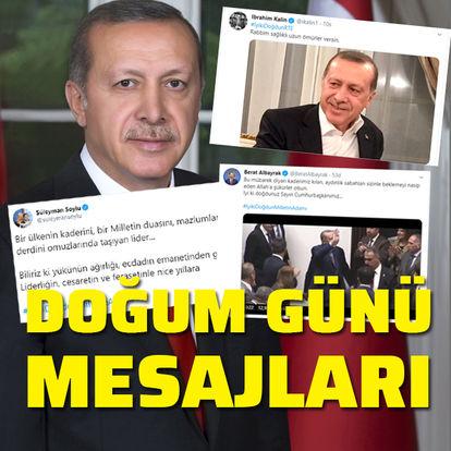Cumhurbaşkanı Erdoğan'ın doğum günü