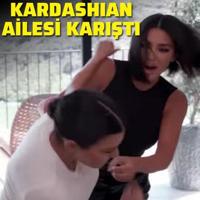 Kardashian ailesi karıştı!