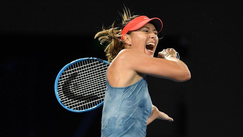 Maria Sharapova'dan tenise veda! Maria Sharapova kimdir?
