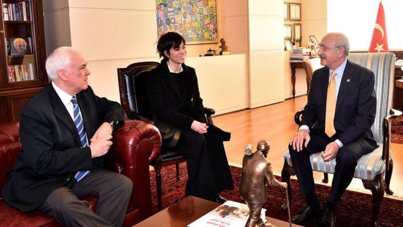 CHP lideri Kılıçdaroğlu, Yunanistan Büyükelçisi Diamessis'i kabul etti