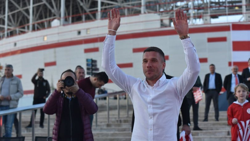 Lukas Podolski: Antalyaspor'a tatile gelmedim